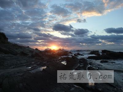 千葉県銚子市 犬吠埼の日の出