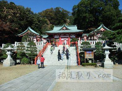 「織姫神社」とひめたま 栃木県足利市