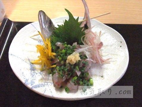 静岡県熱海市 海鮮料理「柴竹」 (祐気取りグルメ)