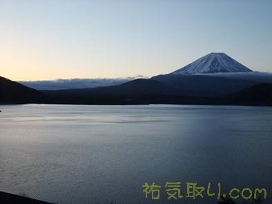 本栖湖日の出4
