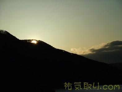 本栖湖日の出7