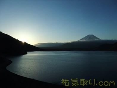 本栖湖日の出8