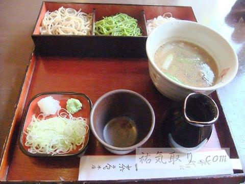 栃木県足利市 蕎麦「一茶庵本店」 (祐気取りグルメ)