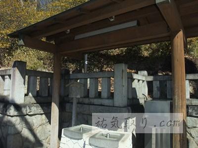 栃木県足利市「織姫神社」の地下水