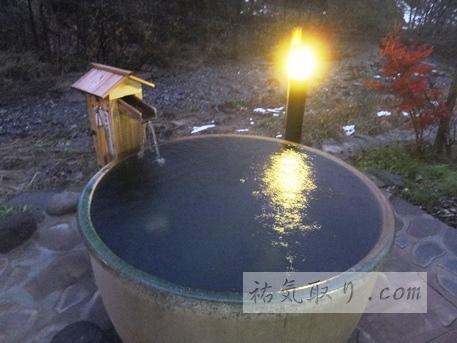 【新潟】源泉掛け流し 「笹倉温泉 龍雲荘」 (温泉で祐気取り)