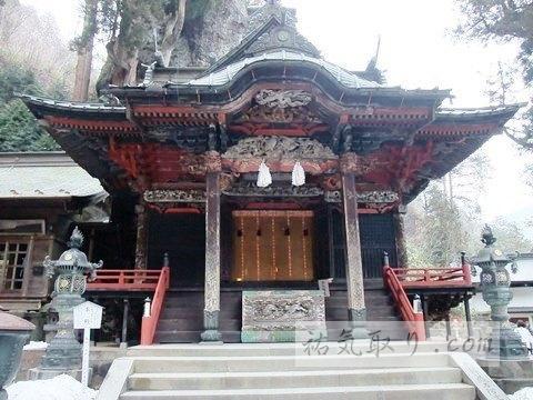 榛名神社 その2 矢立杉から本殿まで 群馬県高崎市
