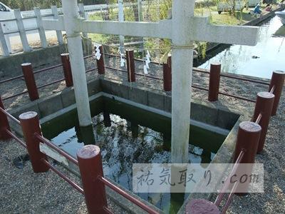 息栖神社 忍潮井でお水取り ★★★