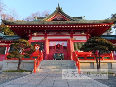 栃木県足利市 「織姫神社」その2(初詣)