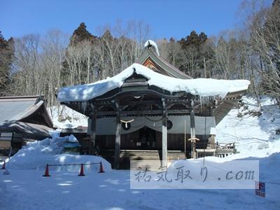 【長野】真冬の戸隠神社 中社 2013 (長野市)★★★★
