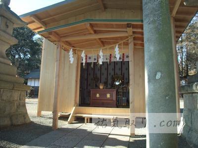 栃木県足利市 八雲神社再建のニュース