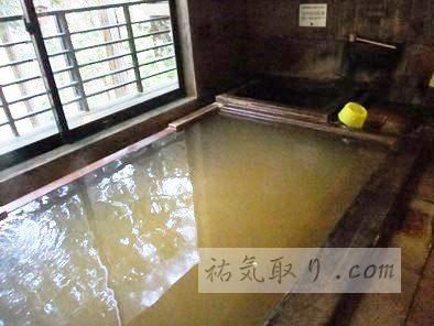 諏訪大社下社近く 毒沢鉱泉 「神乃湯」 (温泉で祐気取り)