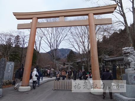 古峯神社2014初詣5