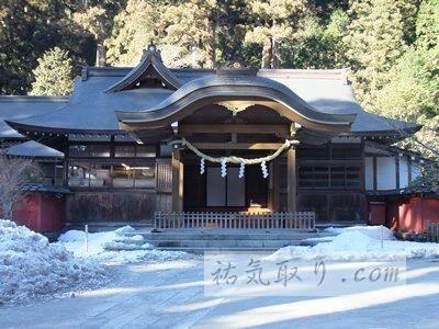 【栃木】日光二荒山神社 その1 無料で参拝できる拝殿と境内 ★★★★